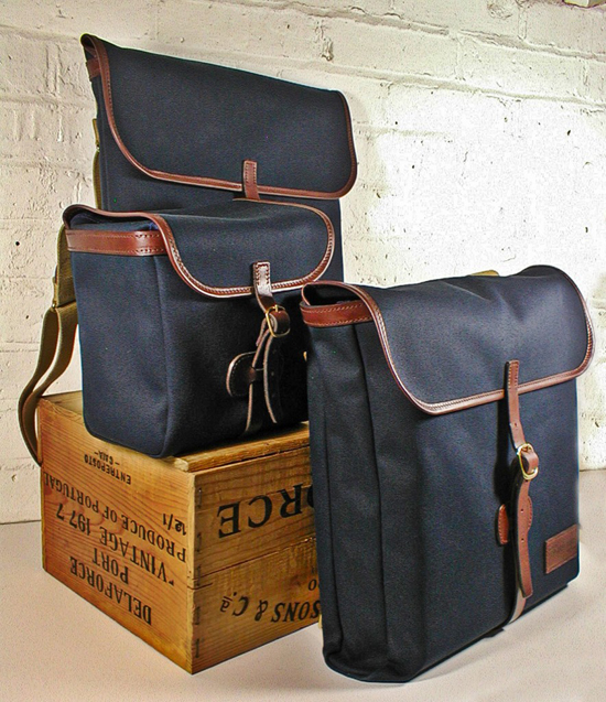 The full range of Original Peter Record Hunting Bags, Record Rucksacks and Bertie Bag Holdalls, all hand made in England from the finest materials to the very highest quality.