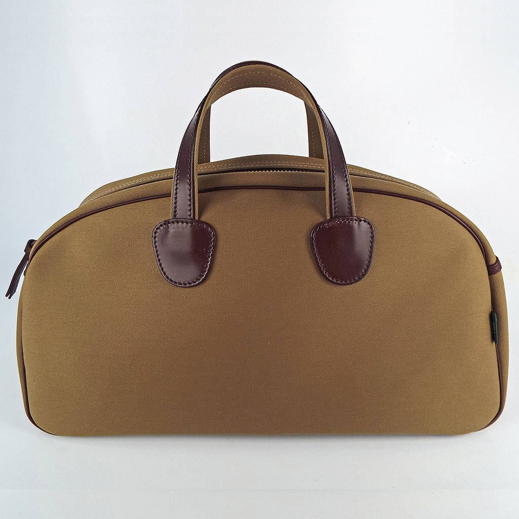 Original Peter Bertie Bag holdall, khaki, front view.
