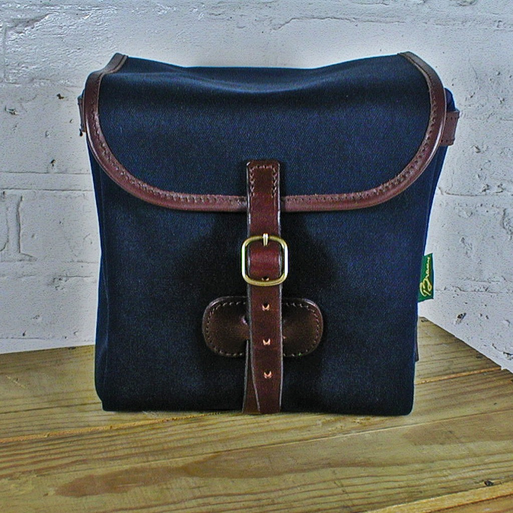 Original Peter Classic 7-inch Record Hunting Bag (Navy), front view