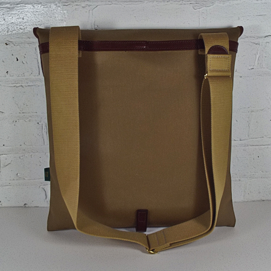 Original Peter Classic 12-inch LP Record Hunting Bag (Khaki), back view