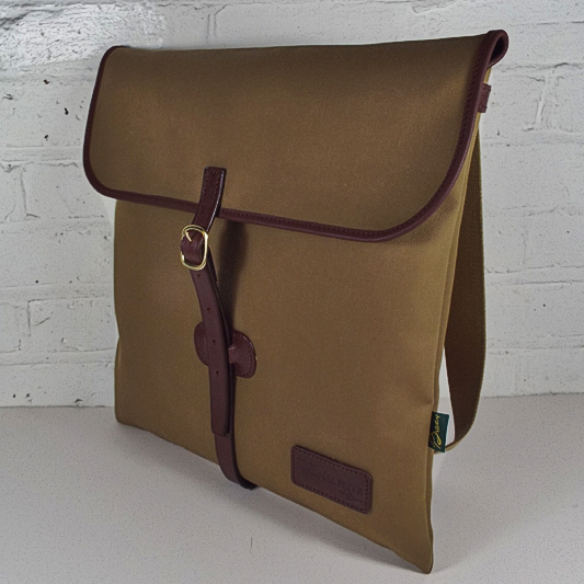 Original Peter Classic 12-inch LP Record Hunting Bag (Khaki), side view