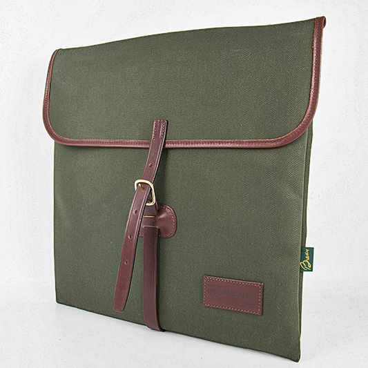Original Peter Classic 12-inch LP Record Hunting Bag (Olive), front view