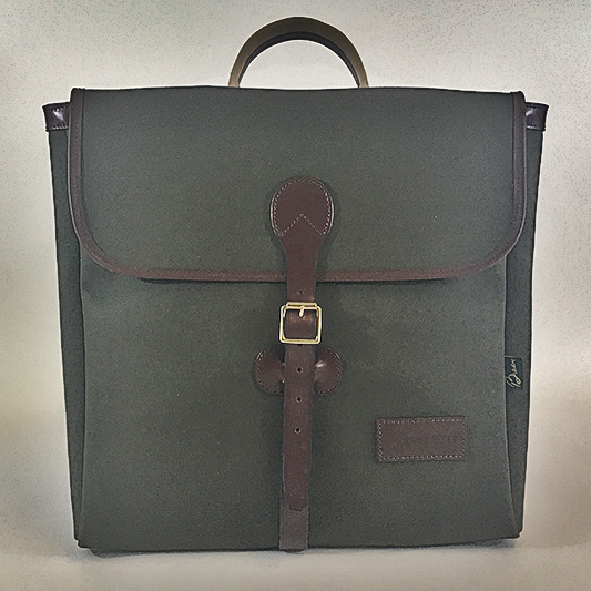Original Peter Record Hunting Bag (Olive), front view