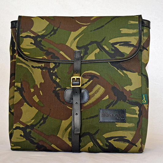 Original Peter Utrecht Record Hunting Bag (Camouflage), front view