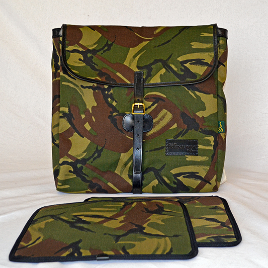 Original Peter Utrecht LP Record Hunting Bag (Camouflage), side view