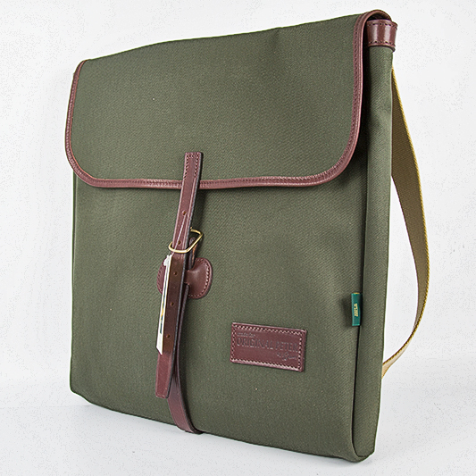 Original Peter Utrecht LP Record Hunting Bag (Olive), front view
