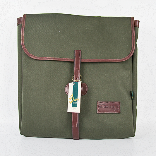 Original Peter Utrecht Record Hunting Bag (Olive), front view